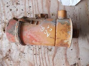 Allis Chalmers G Tractor Ac Engine Motor Oil Bath Precleaner Assembly Ck