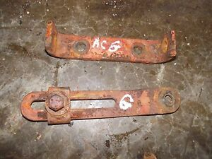 Allis Chalmers G Tractor Ac Engine Motor Generator Pair set Mounting Brackets Ck