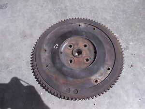 Allis Chalmers G Tractor Ac Engine Motor Flywheel Starter Ring Gear Good Ck