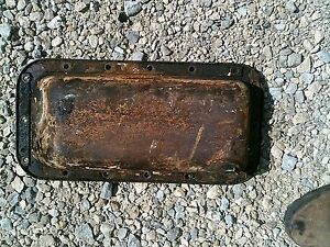 Allis Chalmers G Tractor Original Ac Engine Motor Oil Pan Drain Plug
