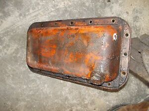 Allis Chalmers G Tractor Ac Engine Motor Oil Pan Cover Drain Plug Ck