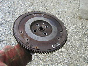 1948 Allis Chalmers G Tractor Original Ac Engine Motor Flywheel