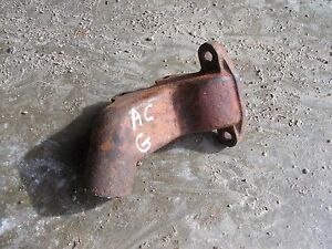 Allis Chalmers G Tractor Ac Engine Motor Bottom Low Steel Water Tube Radiator