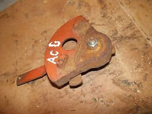 Allis Chalmers G Tractor Original Ac Throttle Control Lever Fan Mount Bracket