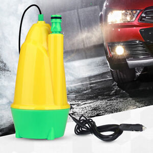 Portable Car 12v Submersible Washer Brush Water Pistol 10m Automatic Wash Pump