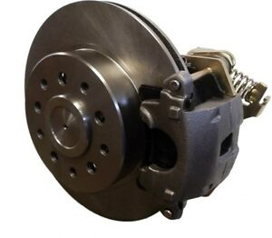 New Universal Weld On Rear Disc Brake Kit W Gm E Brake Calipers Ford Chevy