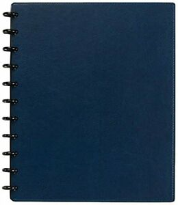Levenger Circa Smooth Sliver Notebook With Pockets ads8795 Rb Ltr Nm