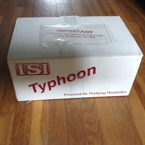 Typhoon Powered Air Purifying Respirator Papr Unit Complete