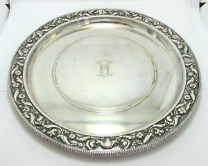 Christofle Silvered Tresor D Hildeseim Charger 19th Century Plate