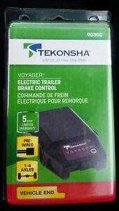 New Tekonsha Voyager Electric Trailer Brake Control Pre Wired 9030c Vehicle End