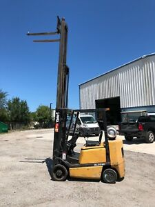Forklift Yale 4750 Lb Lifting Capacity
