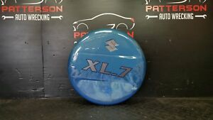 2004 Suzuki Grand Vitara Spare Tire Cover Cypress Blue Z2j Paint Peeling