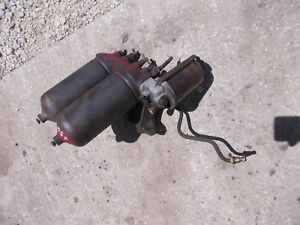 Farmall 450 400 Diesel Tractor Ih Fuel Filter Canister Assembly W Glass Jar