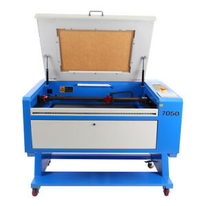 80w Co2 Laser Engraving Cutting Machine 700x500mm W Water Pump Up