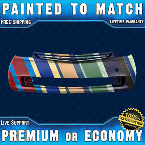 New Painted To Match Front Bumper Cover Exact Fit For 2004 09 Toyota Prius 04 09