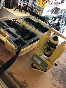 Topcon Dt 209 Optical Digital Theodolite With Dt 200 Case Tested