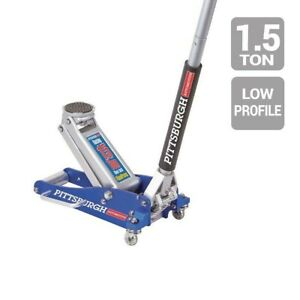1 5 Ton Aluminum Rapid Pump Racing Floor Jack Low Profile 3 1 2 Inches