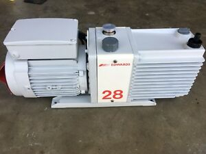 Edwards E2m28 Dual Stage 21 Cfm Vacuum Pump Refurbished This Is A Freight Item