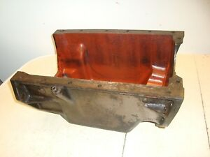 1960 Massey Ferguson 65 Diesel Tractor Engine Oil Pan