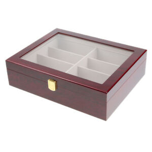 Magideal Display Box Case Organizer Holder Stand For Eyewear Watches Glasses