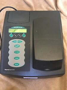 Thermo Electron Spectronic Genesys 20 Spectrophotometer Model 4001 4 4001