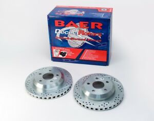 Disc Brake Rotor Baer Sport Rotor Pair Baer Brake Systems 55050 020