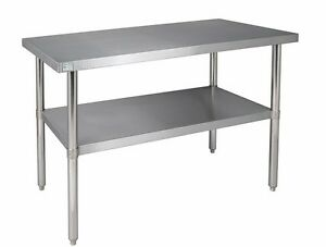 24 X 24 Stainless Steel Work Table