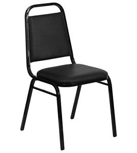 Lot Of 100 Black Stack Chair