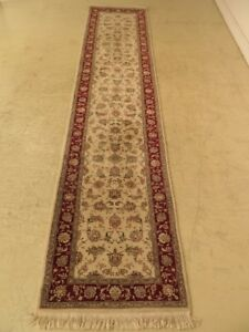 Lf28885c Vintage Oriental Approx 2 5 X 12 High Quality Wool Runner Rug