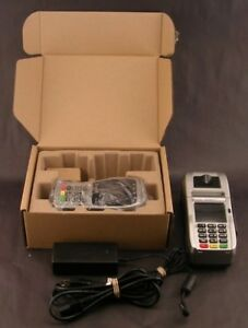 First Data Fd130 Duo Credit Card Machine W fd 40 Pin Pad Vgc