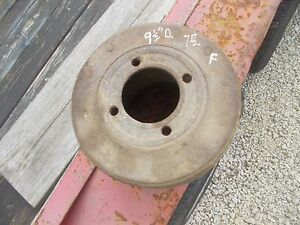 Farmall H Sh 300 350 Tractor Real Nice Ihc Paper Belt Pulley Ready Use