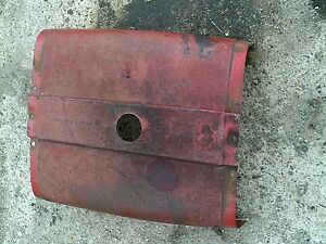 Farmall 656 Tractor Excellent Original Ih Ihc Hood For Over Gas Tank