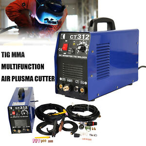 Ct312 3 In 1 Functional Plasma Cutter tig mma Welder Cutting Welding Machine