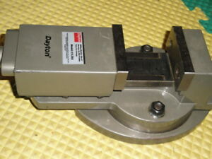 Dayton Machinist Vise 31lz52 For Milling Jig Boring Grinding Shaping