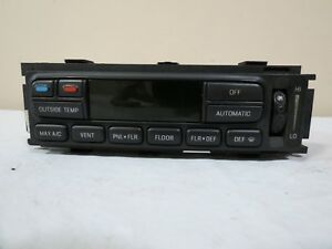 99 00 01 02 Expedition Navigator Digital Ac Climate Control Panel Assembly Oem