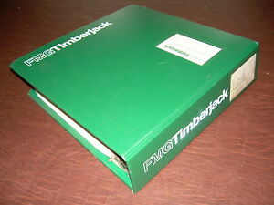 Timberjack Older Master Parts Catalog Book Manual Feller Loader Grapple Delimber