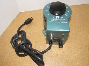 Tested Working Staco Energy Type 3pn1010 Variable Autotransformer 120v 50 60hz