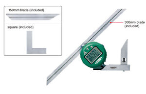Insize Electronic Digital Protractor 0 360 2172 360a