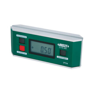 Insize Electronic Digital Level And Protractor 0 360 90 4 Ip54 2179 360