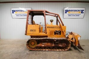Case 850d Track Crawler Dozer 18 Tracks 6 way 100 Blade 82hp 2 Speed