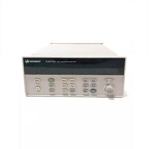 Agilent Hp 34970a Data Acquisition switch Unit Refurbished