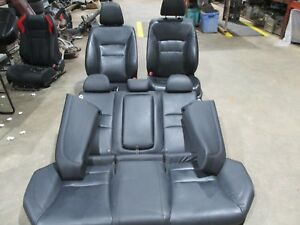 2013 2017 Honda Accord Exl Black Leather Seat Set