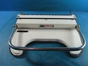 Jbi Wire o Office Binding Machine eb 32 Easy Bind Wire Binder Used