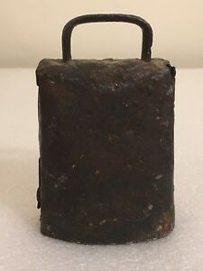 1800 S Primitive Antique Vintage Goat Sheep Metal Cow Bell Farm Livestock Small