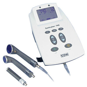 Mettler Sonicator 740x Therapeutic Ultrasound Unit Me740x Comes W 3 Applicator