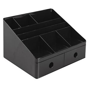 Interdesign Office Supplies Desk Organizer With Drawers drawer Organizer