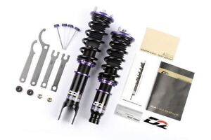 D2 Racing For 99 03 Mitsubishi Galant Rs Series 36 step Adjustable Coilover Kit