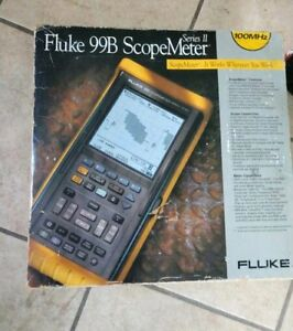 Brand New In Box Fluke 99b Digital Scopemeter Series Ii 2 100 Mhz