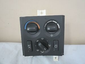 07 2007 Volvo Vnl Ac Heating Climate Control Temperature Panel Assembly Oem