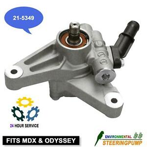 Power Steering Pump W Inlet Pipe For 07 13 Acura Mdx 05 10 Honda Odyssey Suv